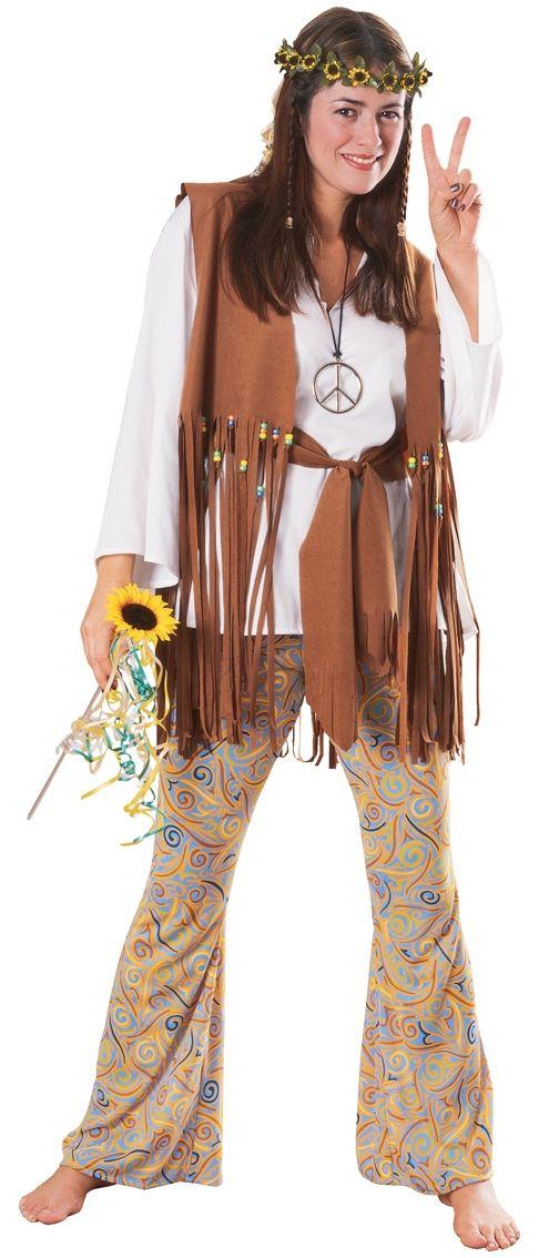 Ladies Hippy Costume