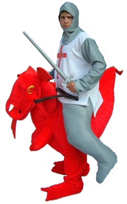 St. George - With His Dragon!