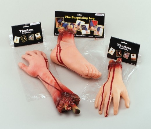 Gory Body Parts