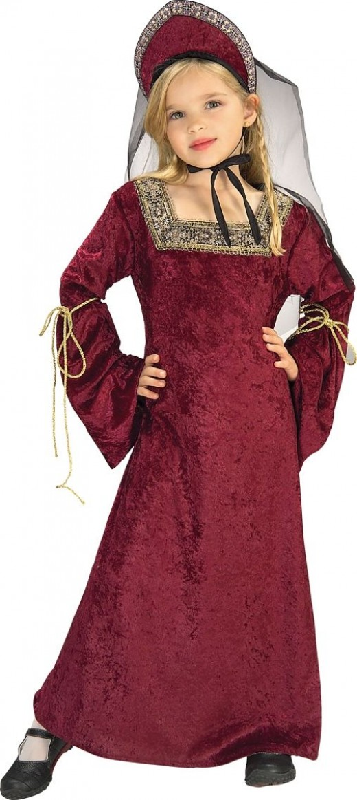 Lady of The Palace - Girl's Rich Tudor Costume