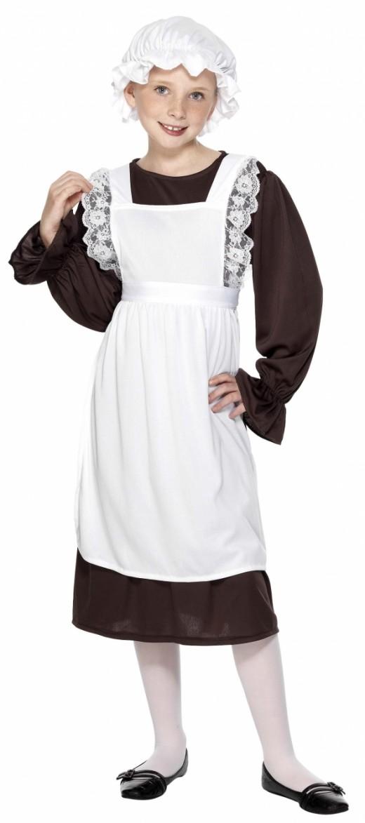 Girl's Victorian Costume
