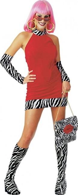 Lady 1970s Pimp Costume