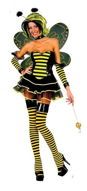 Ladies Sexy Bumble Bee Costume