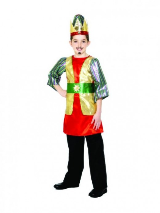 Red Nativity King Costume