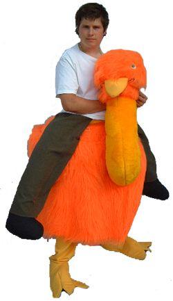 Runaround Emu Costume