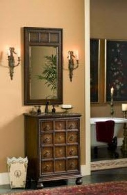 mirrors provide a quick and easy avenue to change the look of your bathroom