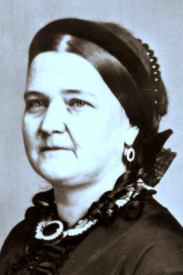 Mary Todd Lincoln - image from Wikimedia Commons