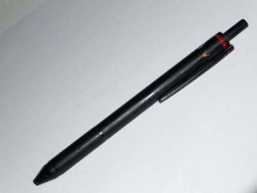 A Rotring multi-pen Ihave had for over a decade.