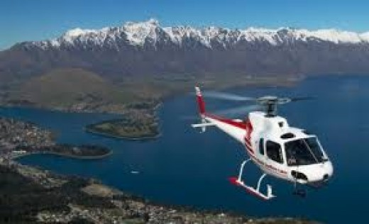 Helicopter Rides Queenstown