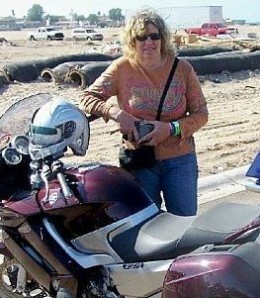 My Motorcycle and me in Mexico