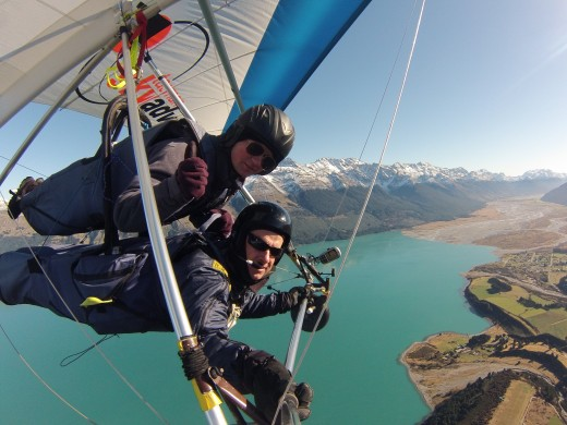 Hang gliding and Paragliding in Queenstown