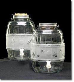 Western Decorated Sun Tea Container