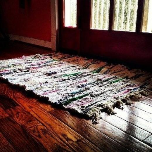 first rag rug
