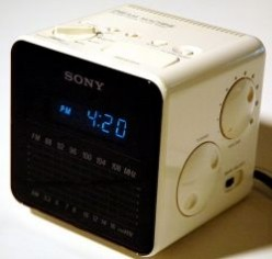 The Legendary Sony Dream Machine Cube Alarm Clock Radio