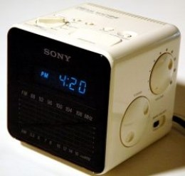 the legendary sony dream machine cube alarm clock radio hubpages. Black Bedroom Furniture Sets. Home Design Ideas