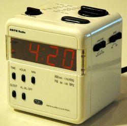tozai cube clock radio