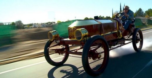 Jay Leno's 1906 Stanely Steamer