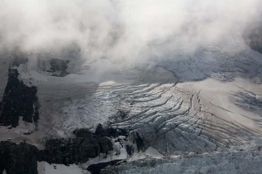 Fox Glacier, South Island, New Zealand.