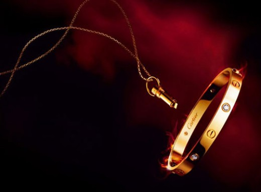Cartier is all about the love