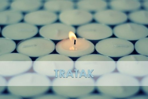 A candle to perform Tratak