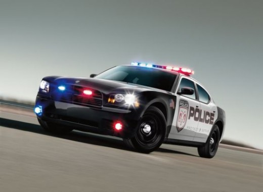 The Dodge Charger SRT8 Police Car