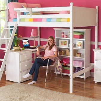The Ultimate Loft Bed/Desk Bundle