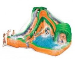 Jungle Water Park Inflatable Slide