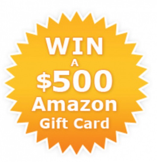 Click Here To Get a FREE $500 Amazon Gift Card