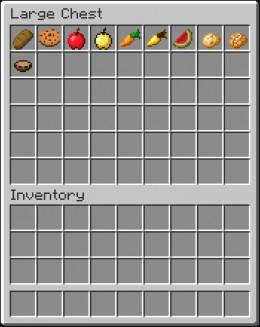Vegan Foods In Minecraft