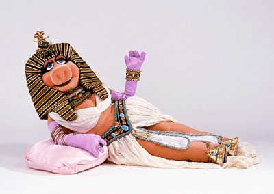 Miss Piggy as Cleopatra
