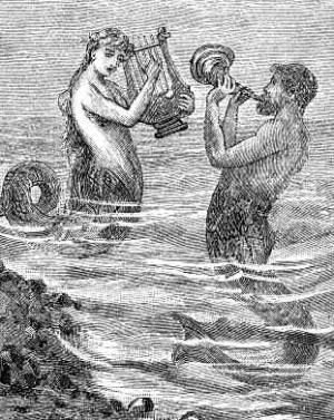 Myth of Mermaid form Greek