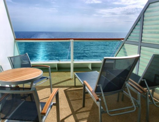 Cruise Ship Stateroom Balcony