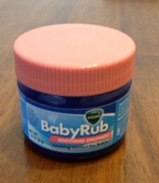 Home Photo: Our Vicks Baby Rub