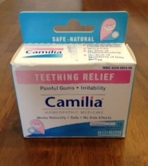 Home photo: Camilia Teething Relief