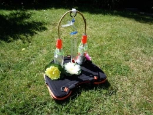 Trabasack with Sensory toys