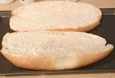 French Bread Sliced in Half by Rymom28