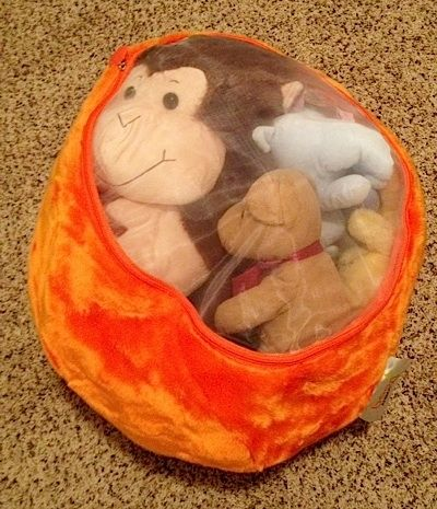 Stuffed Animals in Storage Bag by Rymom28