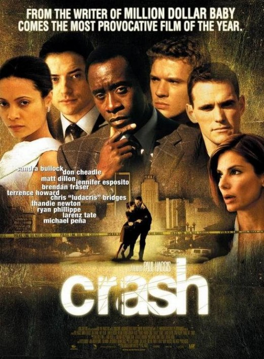 reflection on the movie crash Price history and democracy 8 february 2012 tensions between the african americans and caucasians have been present in america for decades in the movie.