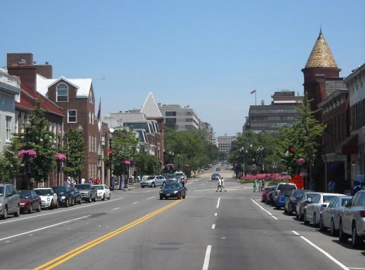 http://en.wikipedia.org/wiki/File:M_Street_Northwest_Georgetown.JPG