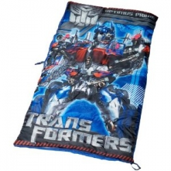Transformers sleeping bag available at Amazon.com