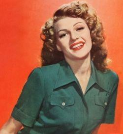 Rita Hayworth 1940's makeup tips
