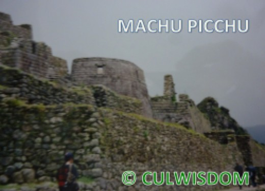 MACHU PICCHU - INCA TEMPLE OF THE SUN