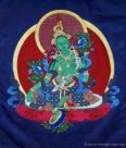 Making Buddhas: Tibetan Silk Applique Thangkas
