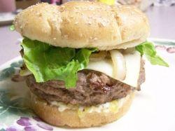 Grilled Hamburger