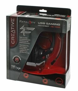 Creative Fatal1ty Gaming Headset Box