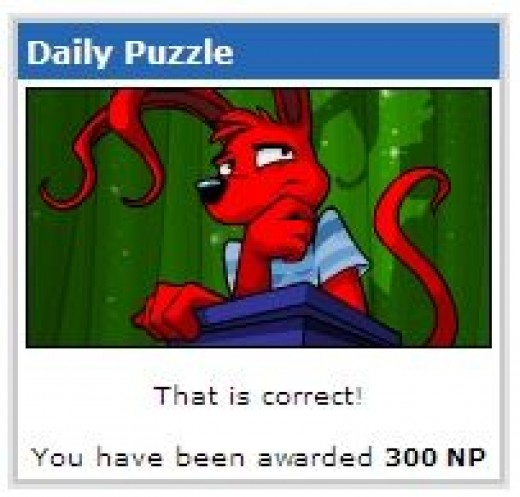 I just got some Neopoints!