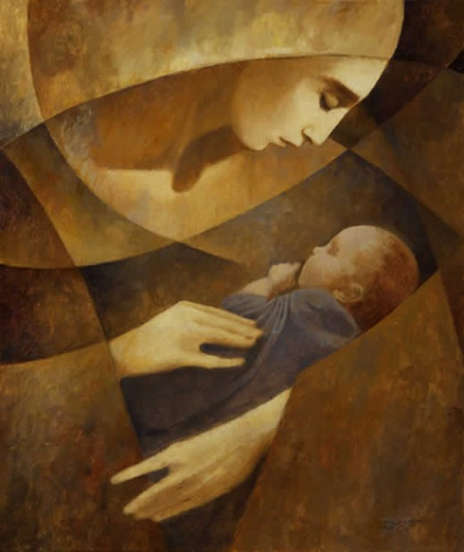 A J. Kirk Richards painting