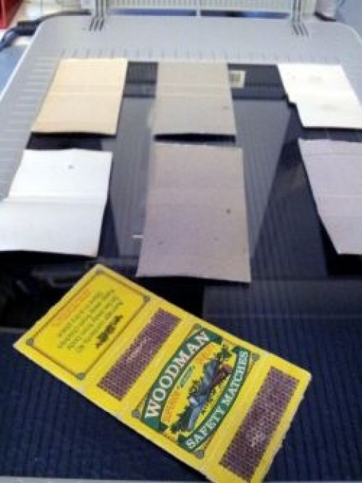 Scanning Matchboxes
