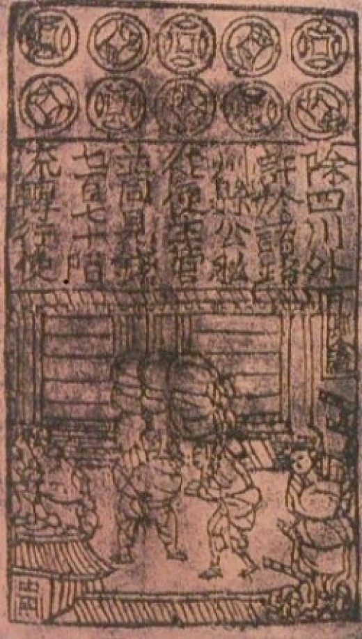 First Paper MOney in the World