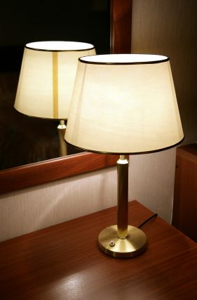 A nice domestic lamp using a 12V low energy lamp